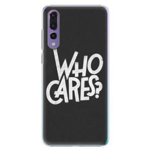 Plastové pouzdro iSaprio Who Cares na mobil Huawei P20 Pro