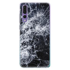 Plastové pouzdro iSaprio Praskliny na mobil Huawei P20 Pro