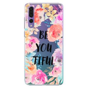 Plastové pouzdro iSaprio BeYouTiful na mobil Huawei P20 Pro