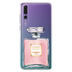 Plastové pouzdro iSaprio Chanel Rose na mobil Huawei P20 Pro