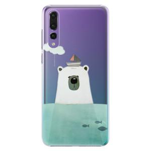 Plastové pouzdro iSaprio Medvěd s Lodí na mobil Huawei P20 Pro