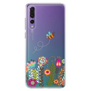 Plastové pouzdro iSaprio Včelka Pája 01 na mobil Huawei P20 Pro