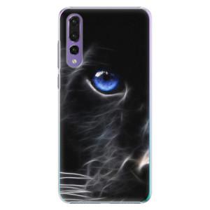 Plastové pouzdro iSaprio Black Puma na mobil Huawei P20 Pro