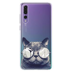 Plastové pouzdro iSaprio Šílená Číča 01 na mobil Huawei P20 Pro