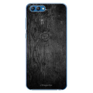 Plastové pouzdro iSaprio Black Wood 13 na mobil Honor View 10