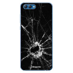 Plastové pouzdro iSaprio Broken Glass 10 na mobil Honor View 10