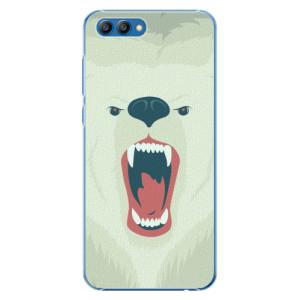 Plastové pouzdro iSaprio Naštvanej Medvěd na mobil Honor View 10