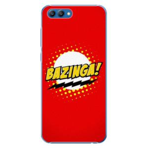 Plastové pouzdro iSaprio Bazinga 01 na mobil Honor View 10