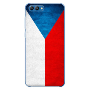 Plastové pouzdro iSaprio Česká Vlajka na mobil Honor View 10