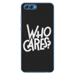 Plastové pouzdro iSaprio Who Cares na mobil Honor View 10
