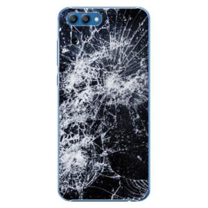 Plastové pouzdro iSaprio Praskliny na mobil Honor View 10