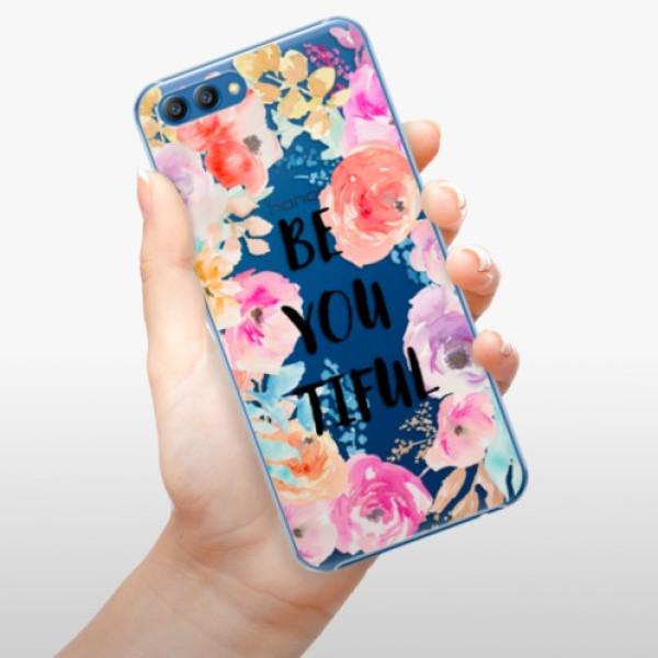 Plastové pouzdro iSaprio BeYouTiful na mobil Honor View 10