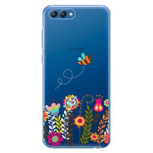 Plastové pouzdro iSaprio Včelka Pája 01 na mobil Honor View 10