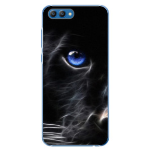 Plastové pouzdro iSaprio Black Puma na mobil Honor View 10