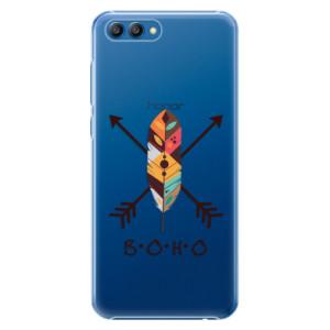 Plastové pouzdro iSaprio BOHO na mobil Honor View 10