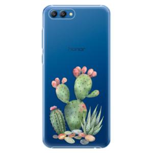 Plastové pouzdro iSaprio Kaktusy 01 na mobil Honor View 10