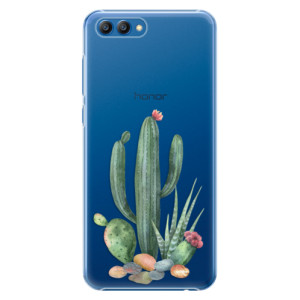 Plastové pouzdro iSaprio Kaktusy 02 na mobil Honor View 10
