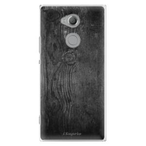 Plastové pouzdro iSaprio Black Wood 13 na mobil Sony Xperia XA2 Ultra