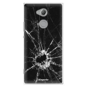 Plastové pouzdro iSaprio Broken Glass 10 na mobil Sony Xperia XA2 Ultra