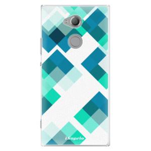 Plastové pouzdro iSaprio Abstract Squares 11 na mobil Sony Xperia XA2 Ultra