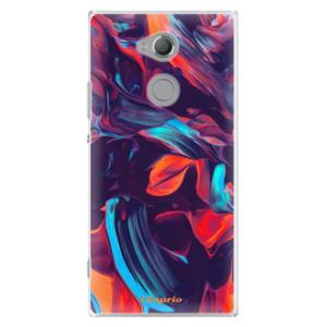 Plastové pouzdro iSaprio Barevný mramor 19 na mobil Sony Xperia XA2 Ultra