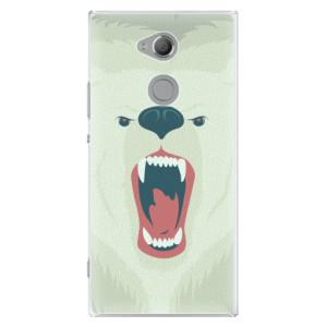 Plastové pouzdro iSaprio Naštvanej Medvěd na mobil Sony Xperia XA2 Ultra
