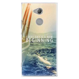 Plastové pouzdro iSaprio Beginning na mobil Sony Xperia XA2 Ultra