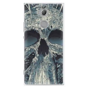 Plastové pouzdro iSaprio Abstract Skull na mobil Sony Xperia XA2 Ultra