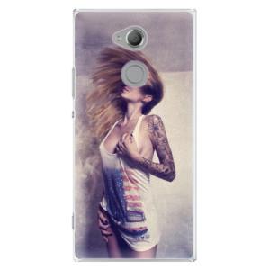Plastové pouzdro iSaprio Sexy Slečna 01 na mobil Sony Xperia XA2 Ultra