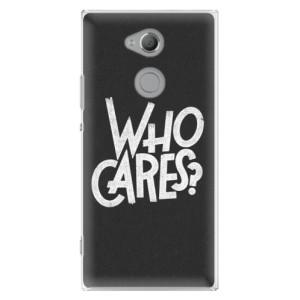 Plastové pouzdro iSaprio Who Cares na mobil Sony Xperia XA2 Ultra