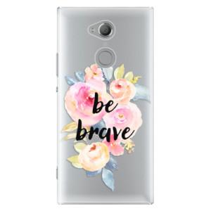 Plastové pouzdro iSaprio Be Brave na mobil Sony Xperia XA2 Ultra