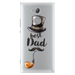 Plastové pouzdro iSaprio Best Dad na mobil Sony Xperia XA2 Ultra