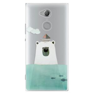 Plastové pouzdro iSaprio Medvěd s Lodí na mobil Sony Xperia XA2 Ultra