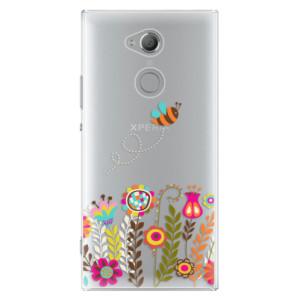 Plastové pouzdro iSaprio Včelka Pája 01 na mobil Sony Xperia XA2 Ultra