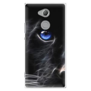 Plastové pouzdro iSaprio Black Puma na mobil Sony Xperia XA2 Ultra