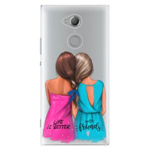 Plastové pouzdro iSaprio Best Friends na mobil Sony Xperia XA2 Ultra
