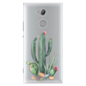 Plastové pouzdro iSaprio Kaktusy 02 na mobil Sony Xperia XA2 Ultra