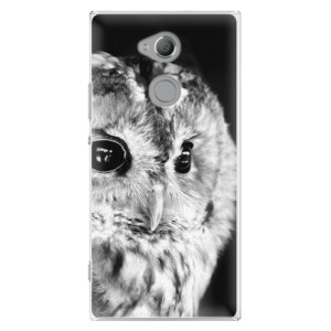 Plastové pouzdro iSaprio BW Sova na mobil Sony Xperia XA2 Ultra