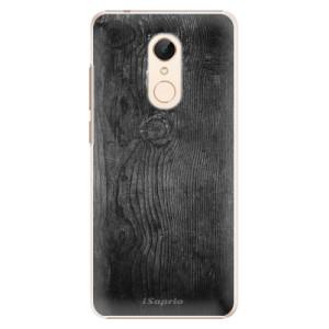 Plastové pouzdro iSaprio Black Wood 13 na mobil Xiaomi Redmi 5