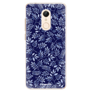 Plastové pouzdro iSaprio Blue Leaves 05 na mobil Xiaomi Redmi 5