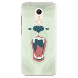 Plastové pouzdro iSaprio Naštvanej Medvěd na mobil Xiaomi Redmi 5