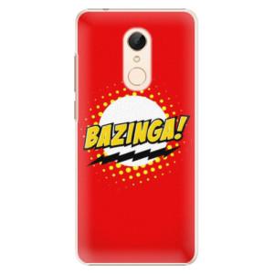 Plastové pouzdro iSaprio Bazinga 01 na mobil Xiaomi Redmi 5