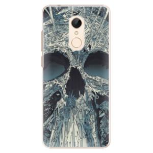 Plastové pouzdro iSaprio Abstract Skull na mobil Xiaomi Redmi 5