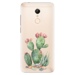 Plastové pouzdro iSaprio Kaktusy 01 na mobil Xiaomi Redmi 5