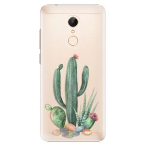 Plastové pouzdro iSaprio Kaktusy 02 na mobil Xiaomi Redmi 5
