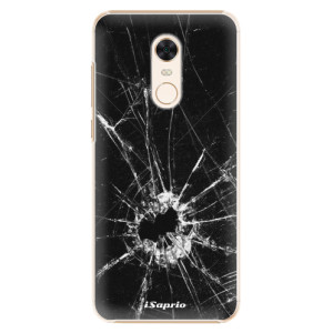 Plastové pouzdro iSaprio Broken Glass 10 na mobil Xiaomi Redmi 5 Plus