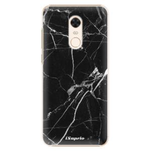 Plastové pouzdro iSaprio Black Marble 18 na mobil Xiaomi Redmi 5 Plus