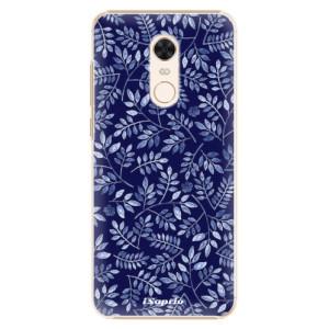 Plastové pouzdro iSaprio Blue Leaves 05 na mobil Xiaomi Redmi 5 Plus