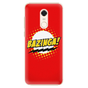 Plastové pouzdro iSaprio Bazinga 01 na mobil Xiaomi Redmi 5 Plus
