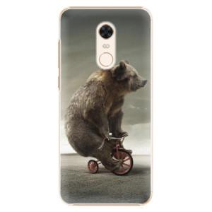 Plastové pouzdro iSaprio Medvěd 01 na mobil Xiaomi Redmi 5 Plus